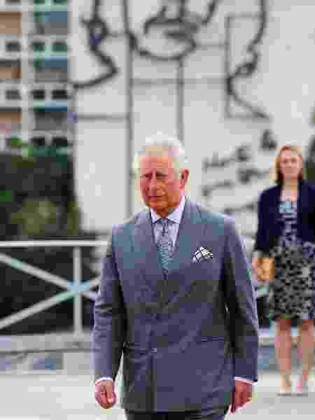 Príncipe Charles e Camilla, duquesa da Cornualha, durante chegada a Cuba - Reuters