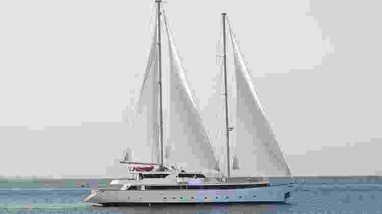 Veleiro Panorama II, da Variety Cruises - Divulgação/Tailor Made Yacht Charters - Divulgação/Tailor Made Yacht Charters