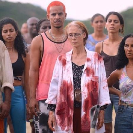"""Sonia Braga em cena de """"Bacurau"""" - Divulgação"""