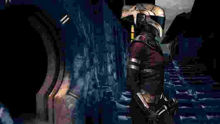 """Keri Russell como a mascarada Zorri Bliss em """"Star Wars: A Ascensão Skywalker"""" - Reprodução/Vanity Fair - Reprodução/Vanity Fair"""