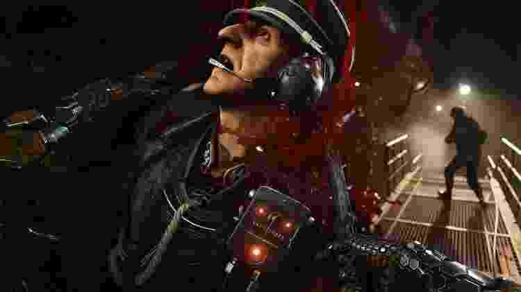 """Esfaquear nazistas faz parte das atividades necessárias para tornar o mundo de """"Wolfenstein"""" um lugar melhor - Reprodução"""