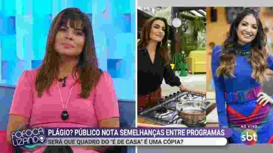 Fofocalizando analisa quadro da Globo semelhante a programa do SBT - Reprodução/SBT
