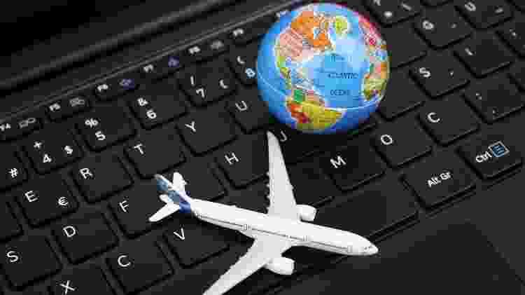 Passagens aéreas podem comparadas em buscadores de voos na internet  - Getty Images/iStockphoto