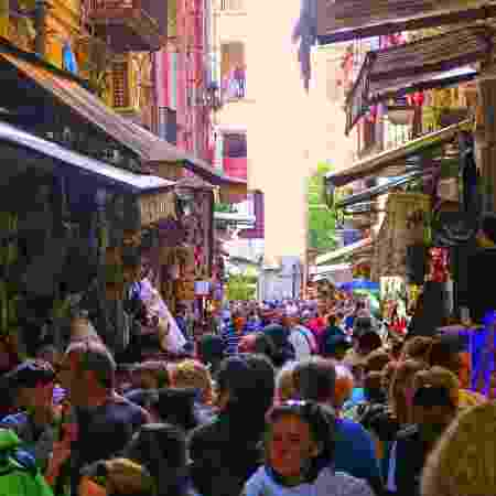 Nápoles, capital da região da Campânia - Getty Images