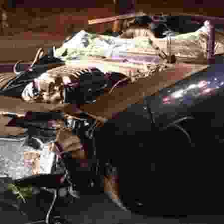 Acidente de Kevin Hart com Plymouth Barracuda - Reprodução