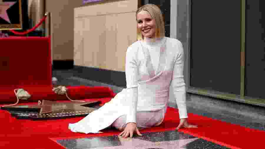 Famosa por Veronica Mars e hoje protagonista de The Good Place, Kristen Bell dubla a princesa Anna em Frozen e Frozen 2 - Mario Anzuoni/Reuters