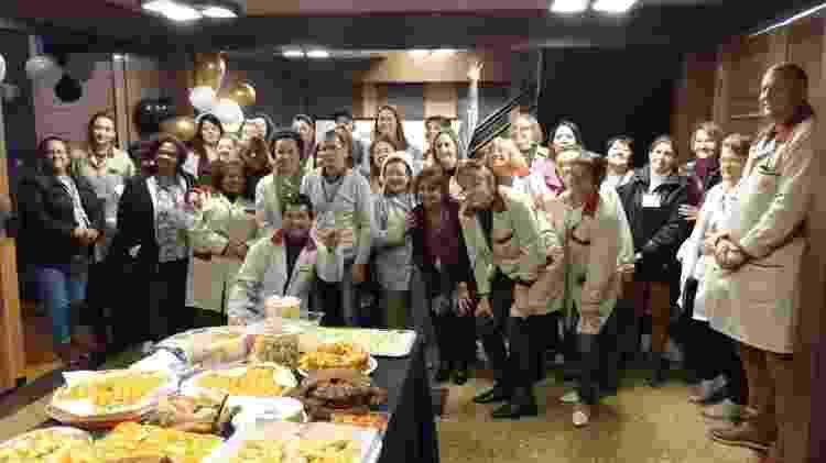 Grupo de voluntários do Hospital do Trabalhador  - Divulgação/Hospital do Trabalhador