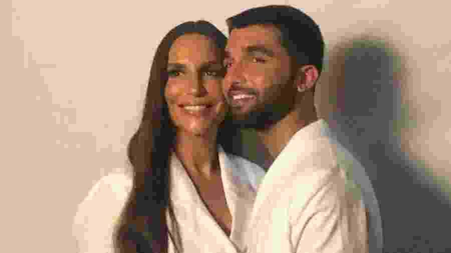 Ivete Sangalo e Silva em bastidor de gravação de clipe - Reprodução/ Instagram