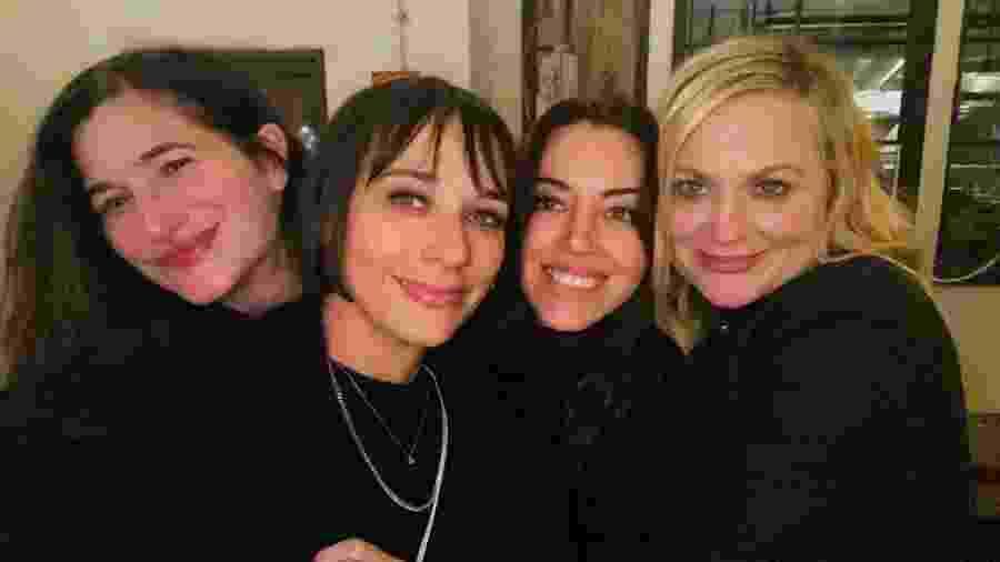 Kathryn Hahn, Rashida Jones, Aubrey Plaza e Amy Poehler - REPRODUÇÃO/INSTAGRAM