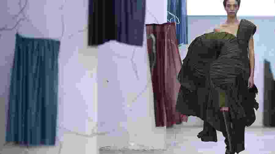 Semana da Moda de Londres  - Daniel Leal-Olivas/AFP