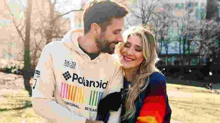 Dani Calabresa e namorado - Reprodução/Instagram
