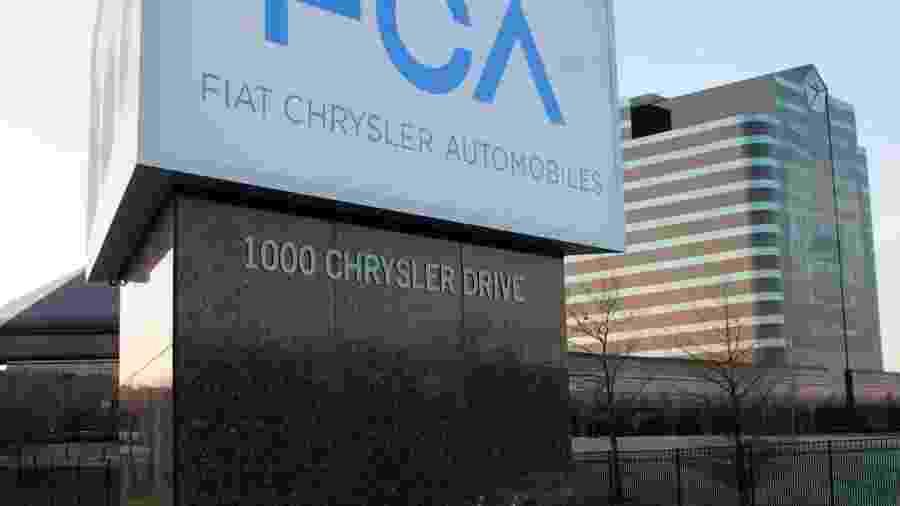 Fábrica da FCA nos EUA - Divulgação