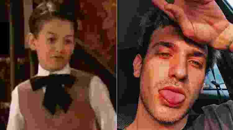 Igor Adamovich fez a minissérie 'Um Só Coração', na Globo, aos 8 anos - Reprodução - Reprodução