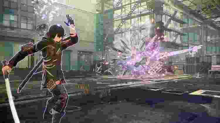 Scarlet Nexus combate - Divulgação/Bandai Namco - Divulgação/Bandai Namco