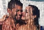 Viviane Araújo mostra ensaio com namorado em piscina: