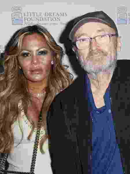 Orianne Cevey e Phil Collins em evento em Miami (EUA) - John Parra/Getty Images