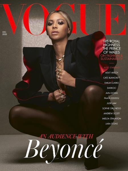 Beyoncé na capa da Vogue UK de dezembro - Kennedi Carter/Instagram