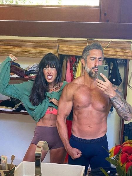 Marcos Mion e a esposa, Suzana Gullo - Reprodução/Instagram