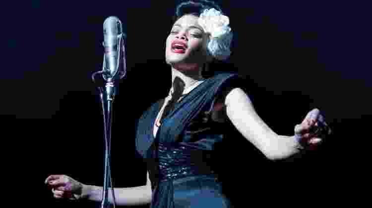 """Andra Day em """"Estados Unidos Vs Billie Holiday"""" - Divulgação - Divulgação"""