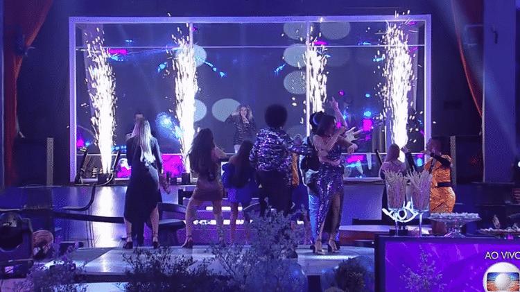 festa  - Reprodução/ Globoplay - Reprodução/ Globoplay