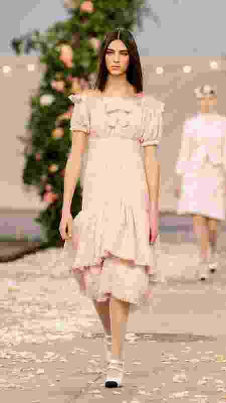 Desfile da Alta-Costura da Chanel para a coleção primavera/verão - Divulgação - Divulgação