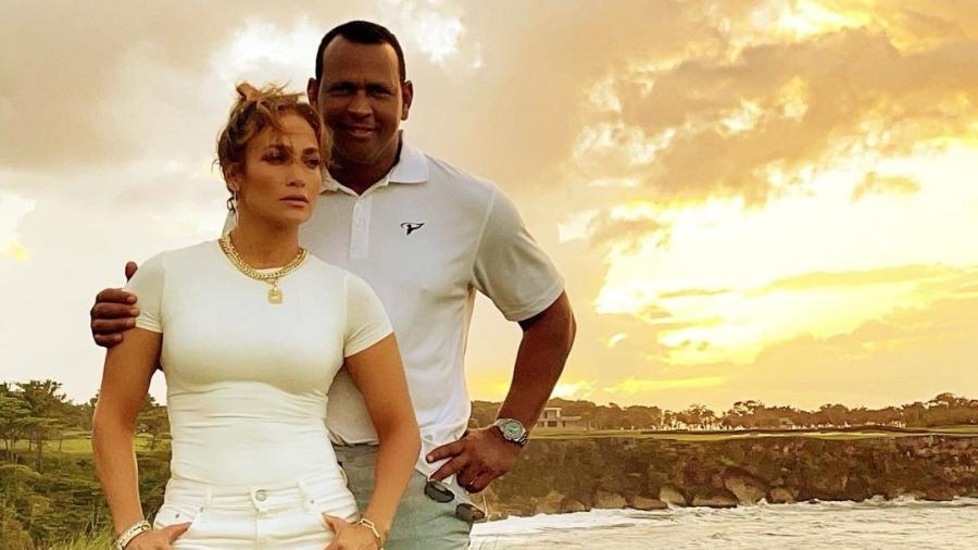 Jennifer Lopez e Alex Rodriguez: fim do noivado, agora oficial - Reprodução/Instagram @arod