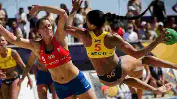 Multa foi aplicada sob o argumento de violação às regras de vestimentas da competição - Getty Images - Getty Images