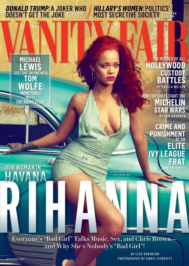 Rihanna é a capa da edição de novembro da revista