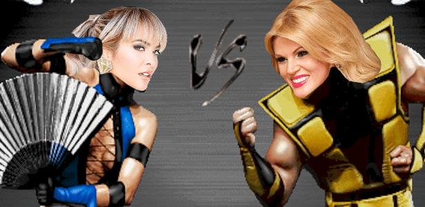 Duelo entre Geisy Arruda e Val Marchiori, que se desentenderam na RedeTV!