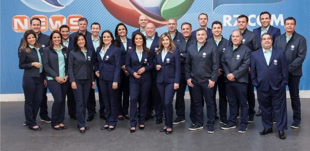 Equipe da Record para a cobertura da Olimpíada - Edu Moraes/Divulgação/Record
