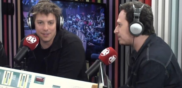 Porchat admite surpresa com clima amistoso entre apresentadores da Record - Reprodução/jovempanonline.com.br