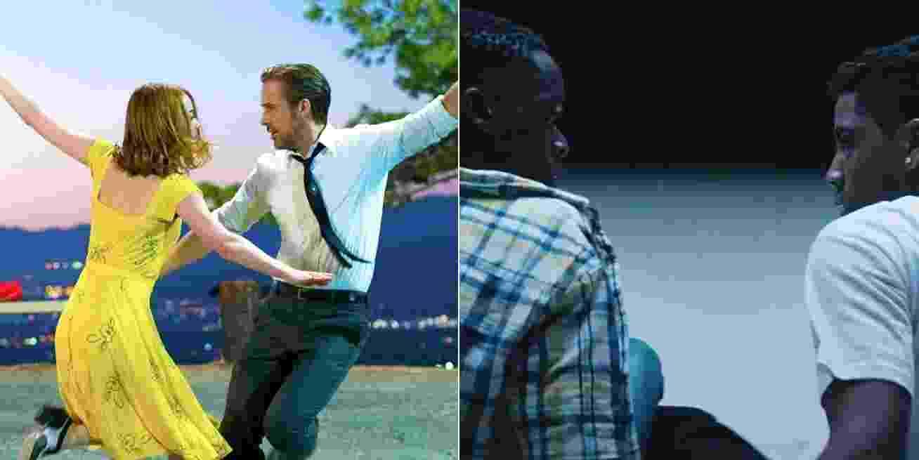 """O musical """"La La Land - Cantando Estações"""" e o drama gay """"Moonlight"""" lideram a disputa ao Globo de Ouro 2017 com 7 e 6 indicações, respectivamente - Divulgação"""