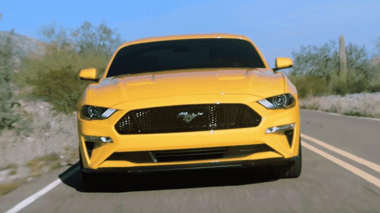 Novo Mustang - Reprodução - Reprodução