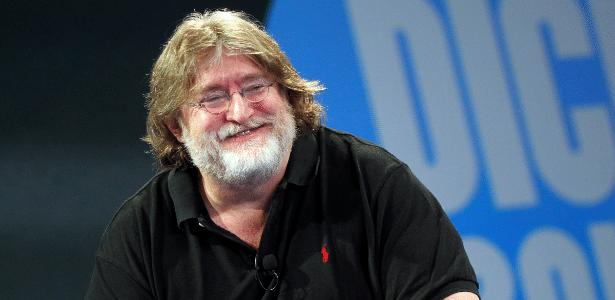 Gabe Newell, um dos bilionários mais famosos dentro do mundo dos games - Reprodução