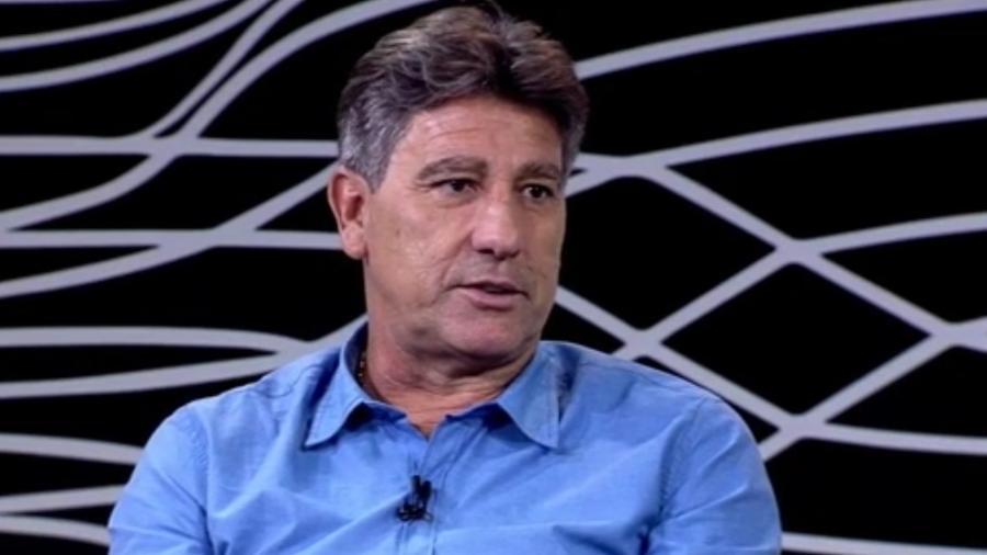 """""""Bola da Vez"""" na ESPN Brasil com Renato Gaúcho - Reprodução"""