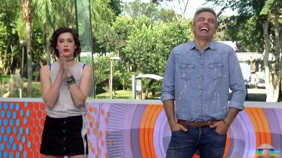 """Otaviano ri do """"surto"""" de Marcos com as mulheres no """"BBB"""" enquanto Sophia Abrahão se mostra indignada - Reprodução/Gshow"""