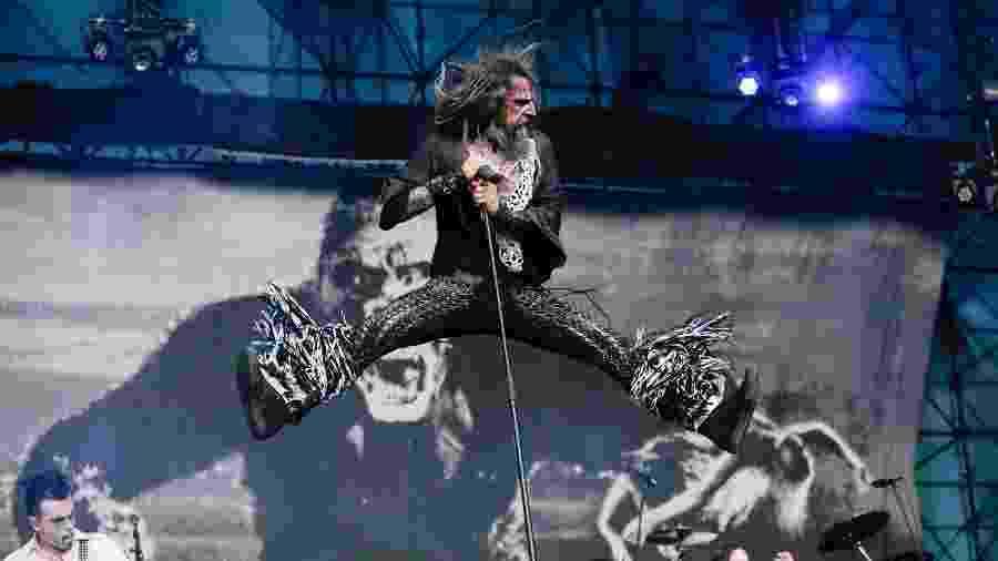 O cantor Rob Zombie se apresenta em São Paulo - Ale Frata/Código19/Estadão Conteúdo