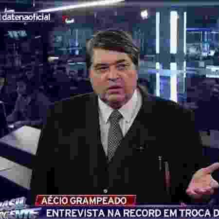 """Datena diz que não gosta de apresentar """"Brasil Urgente"""" - Reprodução/Band"""