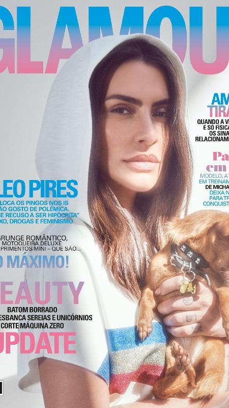 """Cleo Pires está na capa da """"Glamour"""" de agosto de 2017 - Divulgação"""