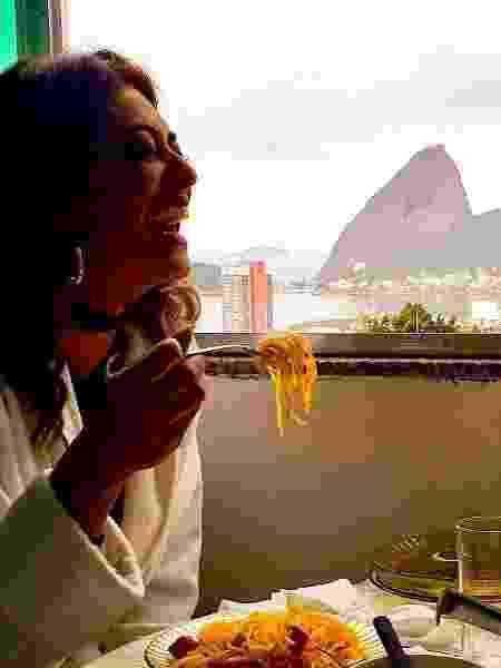 Juliana Paes durante intervalo de gravação - Reprodução/Instagram