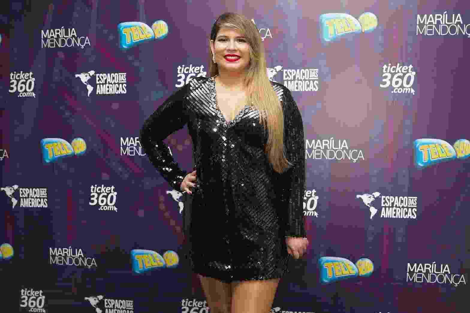 Cantora Marilia Mendonça chega para show no Espaço das Américas em São Paulo - Manuela Scarpa/Brazil News