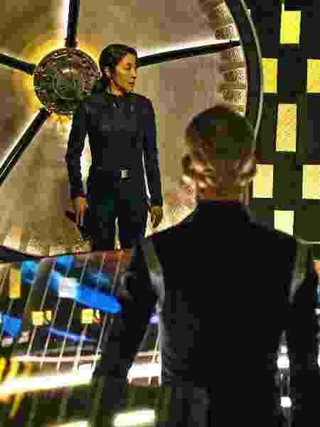 """Michelle Yeoh em cena de """"Star Trek: Discovery"""" - Divulgação/Netflix"""