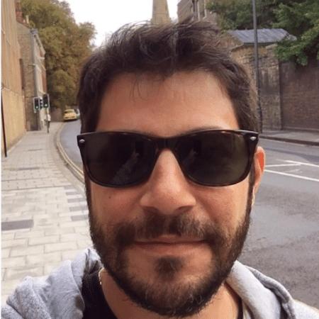 Evaristo Costa curte a Inglaterra - Reprodução/Instagram/evaristocostaoficial