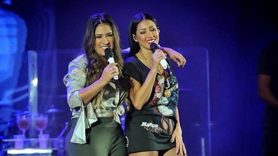 As irmãs Simone e Simaria - Reprodução/Facebook
