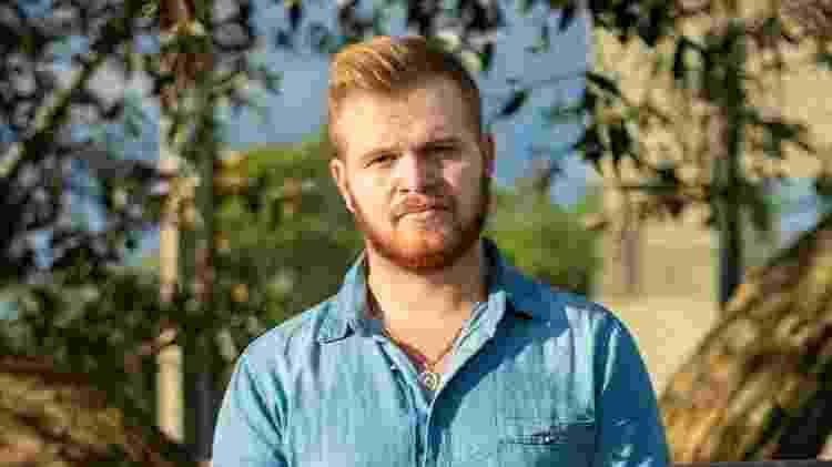 Aleksandro Machado se tornou doador de sêmen há oito meses: 'Acreditava que ninguém iria entrar em contato comigo, mas logo recebi muitas mensagens' - Arquivo pessoal/BBC