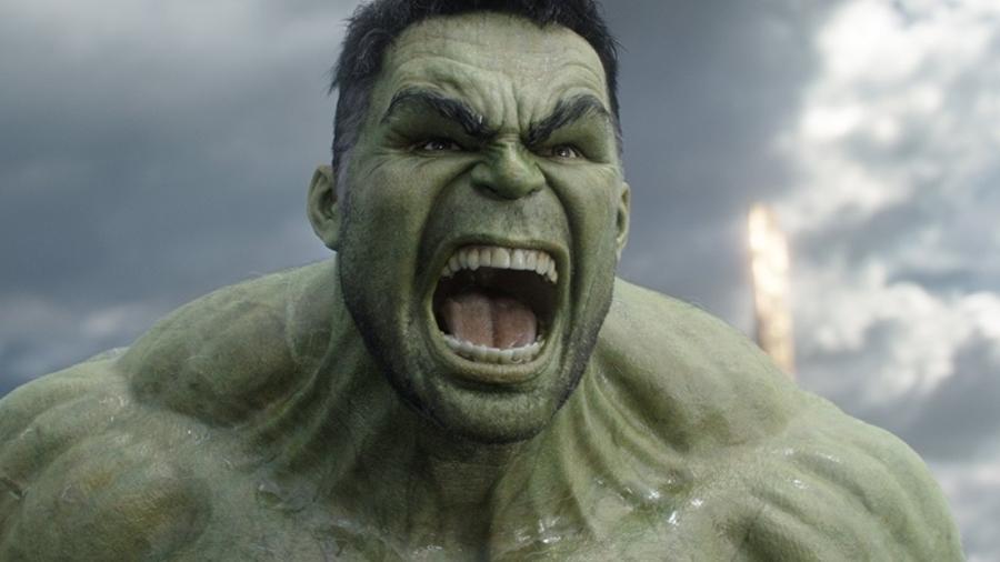 """Mark Ruffalo como Hulk em """"Thor: Ragnarok"""" - Reprodução"""