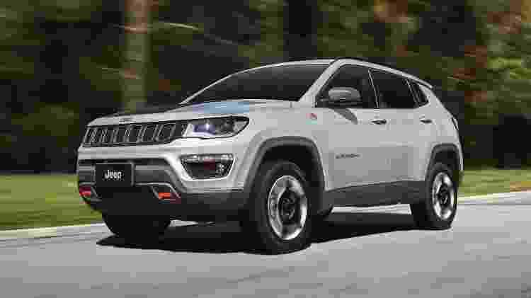 Jeep Compass Trailhawk - Divulgação - Divulgação