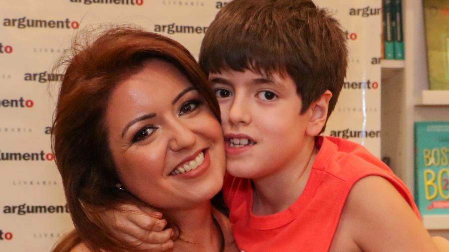 A blogueira Andréa Werner, mãe de um garoto autista - Arquivo pessoal