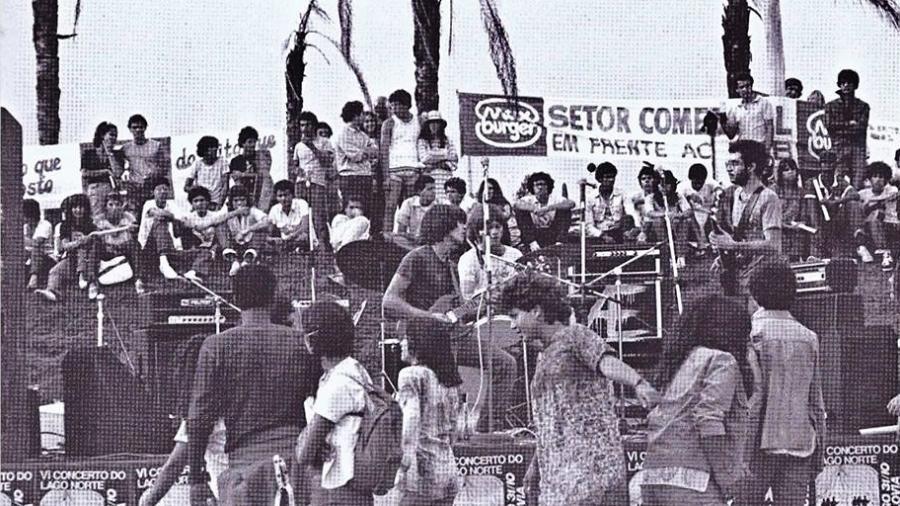 Primórdios da Legião Urbana em Brasília - Reprodução/Facebook