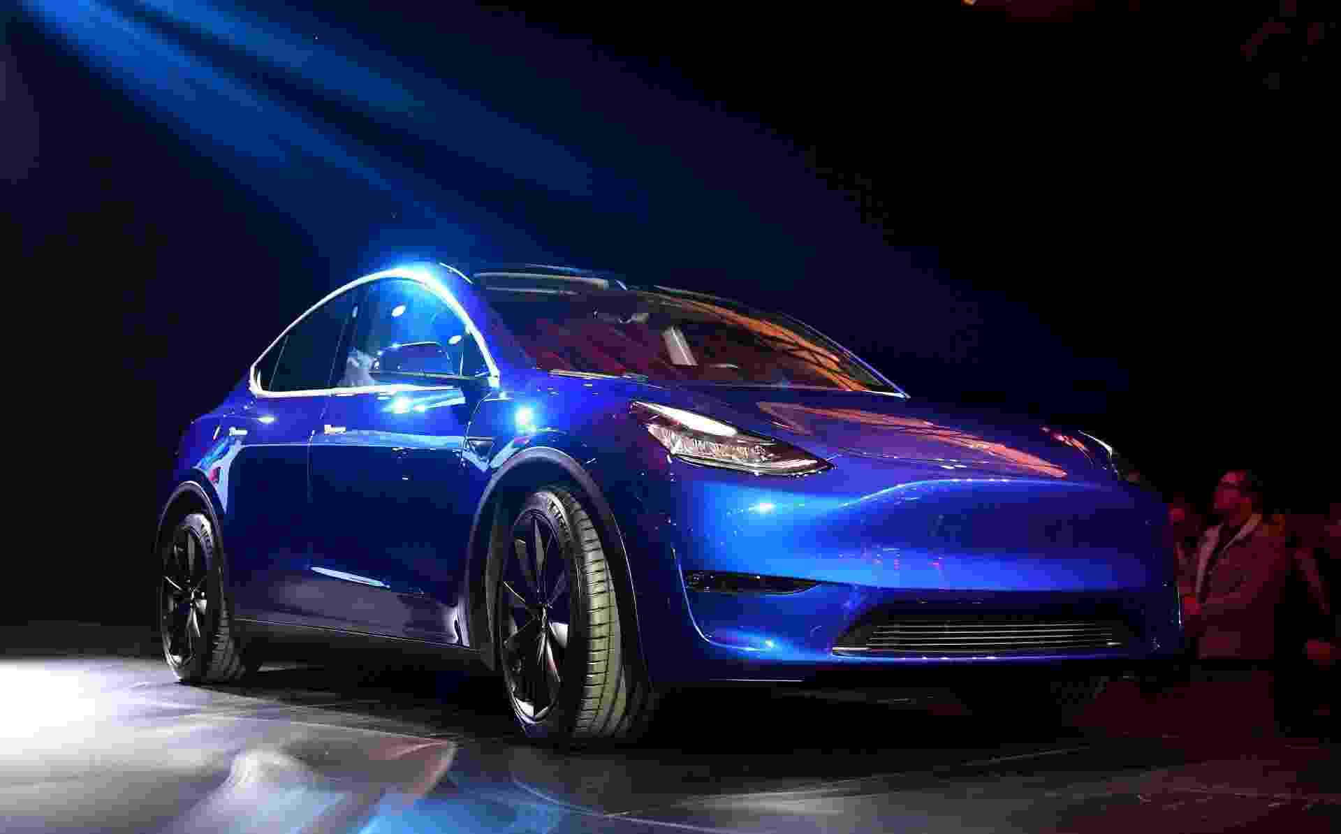 Tesla Model Y - Frederic J. Brown/AFP